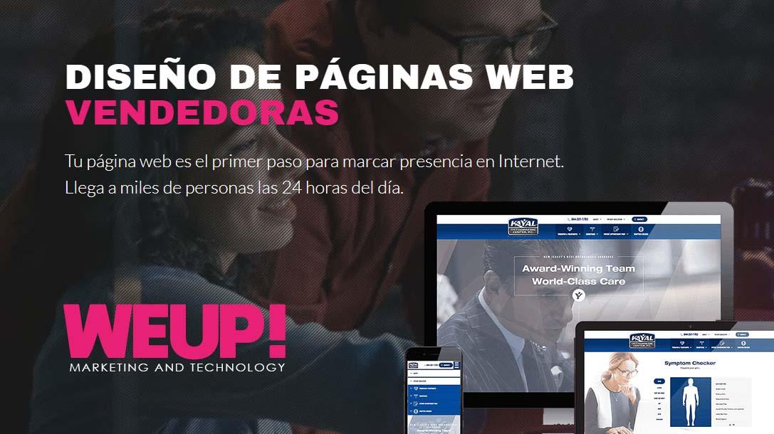 diseño de pagina web en lima peru con weuup